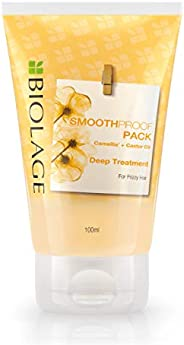 Biolage SMOOTHPROOF Deep Treatment Pack for Frizzy Hair (Vegan & Paraben Free) 1