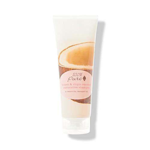 100% pure cosmétique naturel Honey & Virgin Coconut Reste orative Shampoing Big, Net Wt. 13 fl oz/390 ml