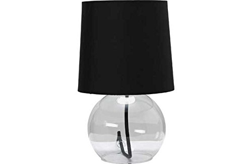 Colour Match Flexi Glaslampe - Jet Black. (Flexi-jet)
