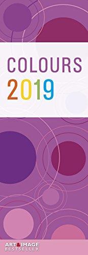 Colours 2019 Streifenkalender