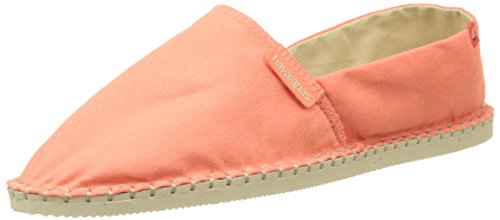 Havaianas 4137014 - Espadrilles - Mixte Adulte - Multicolore Orange (Orange Cyber) - 38 EU (36 Brazilian)
