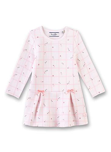 Sanetta Baby-Mädchen Dress Kleid, Rosa (Hellrosa 3075), 62 (Herstellergröße: 062)