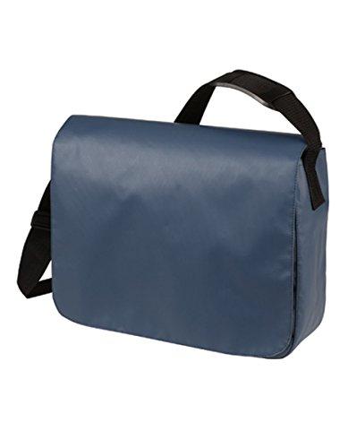 HALFAR® HF6052 Schulter Tasche Style aus LKW Plane Planentasche Umhängetasche , Farbe:Navy