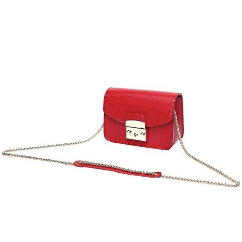 Yy.f Nuove Borse Tracolla Messenger Di Modo Piccolo Pacchetto Quadrato Moda Esterna Pratico Sacchetto Solido Interno Colore 2 Red