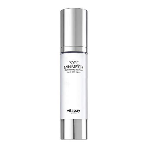 Pore Minimiser - 50ml - Pflegelotion zur Porenverfeinerung. Gegen fettige, großporige Haut. Reduziert Mitesser und mindert Gesichtsglanz. Mit PoreAway. Feuchtigkeitsspendend und mattierend.