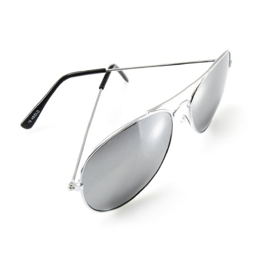 4sold-UNISEX-MENS-WOMENS-70s-Designer-Style-Unisex-Silver-Mirror-Sunglasses-UV400-Protection-One-Size-Fits-All-Full-Mirrored-Lenses