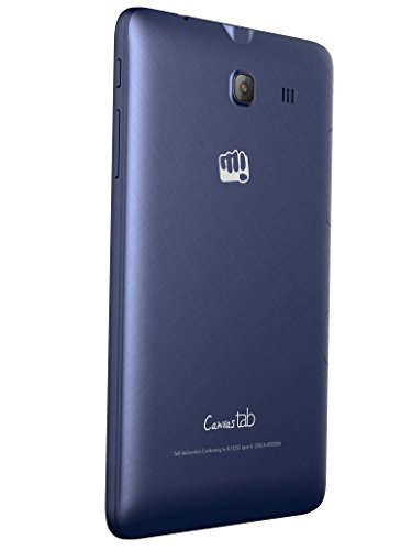Micromax Canvas Tab P701 Tablet (7 inch, 8GB, Wi-Fi+ LTE+ Voice Calling), Blue