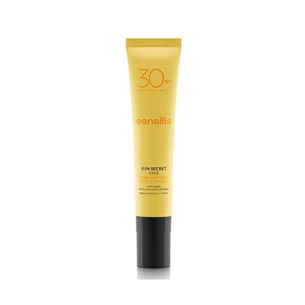 Sensilis Sun Secret – Crema Ultraligera Protector Solar Facial con SPF30-40 ml