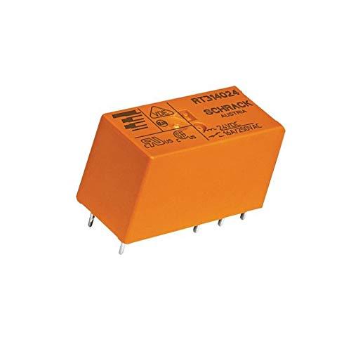 WITTKOWARE PCB Leistungsrelais, 230V, 1 Wechsler, 16A/250V~ -