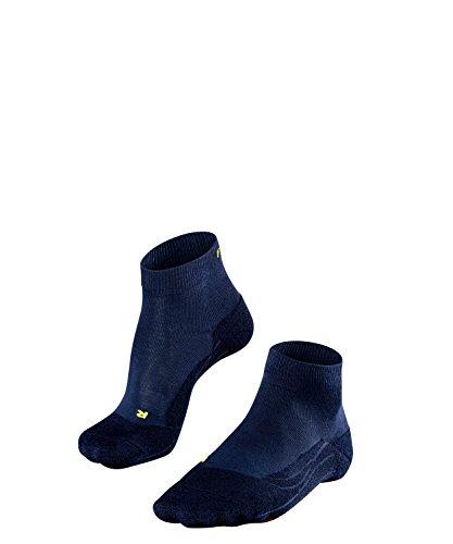 FALKE Damen Golfsocke Go 2 Shorts Women, Space Blue, 39-40 (Baumwolle Elasthan Shorts Womens)