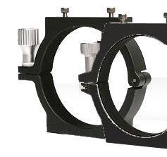 TS-Optics CNC Rohrschellen-Set 105mm für Teleskope, APCR105