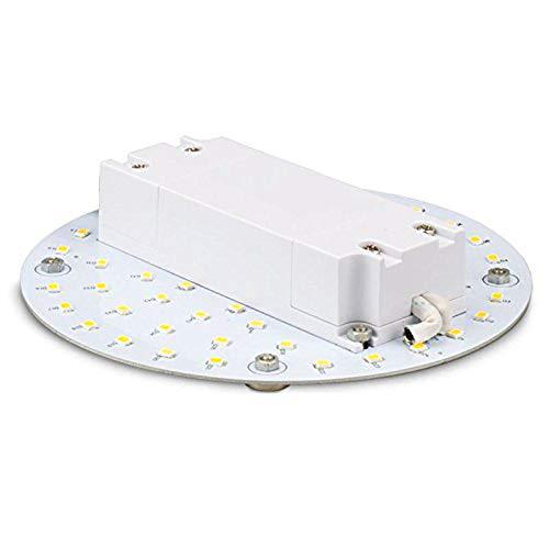 Isolicht LED Umrüstplatine 130mm, 9W, mit Magnet, warmweiß -