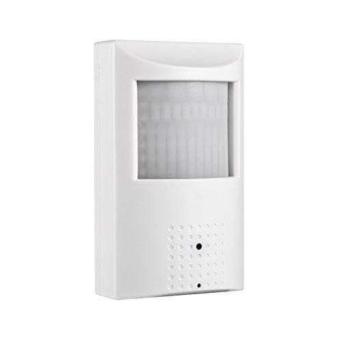 Revotech-POE-Oculto-Agujero-de-Alfiler-Estilo-PIR-1920-x-1080P-20MP-Para-Interior-Invisible-48-LED-IP-Cmara-de-Visin-Nocturna-Cmara-Seguridad-ONVIF-P2P-CCTV-Cmara-con-IR-Cut-IPIR-Blanco