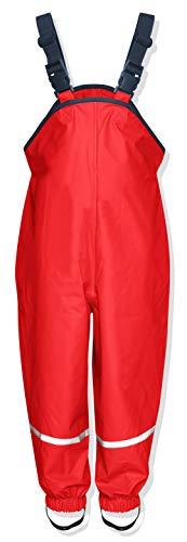 Playshoes Regenlatzhose Textilfutter 405514 Unisex - Kinder Hosen/ Lang, Gr. 140 Rot (rot 8)