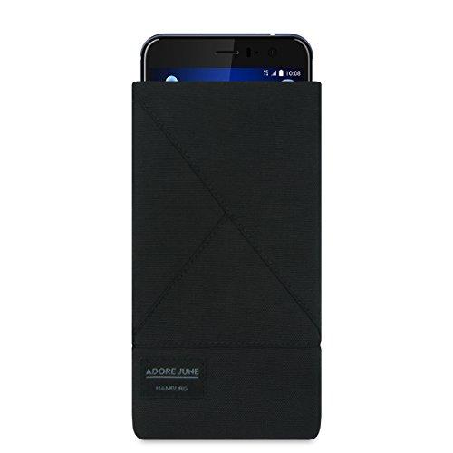 Adore June - Custodia Triangle per HTC U 11 - original Cordura - nero