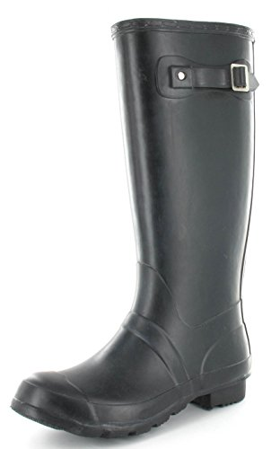 SHUMAD Ladies Girls Coloured Gloss/Matt Wellington Boots Fashion Festival Waterproof Wellies UK sizes 3-9