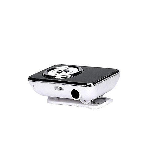 OSYARD MP3 Player,Musik Player,Touch-Taste Mini USB-MP3-Player Unterstützt Micro SD TF-Karten,Tragbare Verlustfreie Sound Sport Musikmedien mit Clip für Joggen, Wandern oder Camping