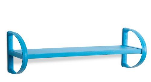 Dea home z740m092 mensola amadeus 62, 60x20x20, blu