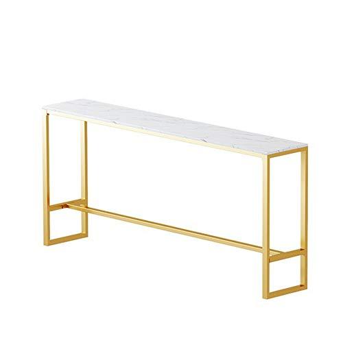 Einfacher Beiläufiger Stangen-Stehtisch Und Stuhl Des Marmors Modernes Haus Der Freizeit Handeln Barhocker Aus,BarTable140*40 * 105cm