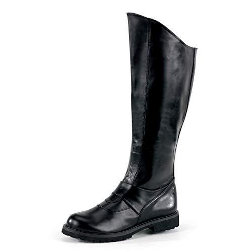 Higher-Heels Funtasma Superhelden-Stiefel Gotham-100 Mattschwarz Gr. 48