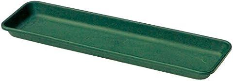 forestfox™ Plant Sill Tray Green 60cm Saucer Trough Garden Windowsill Pot Universal Indoor