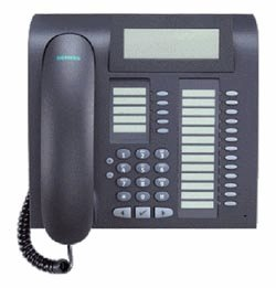 Siemens OptiPoint 420 advance mangan VoIP-Telefon