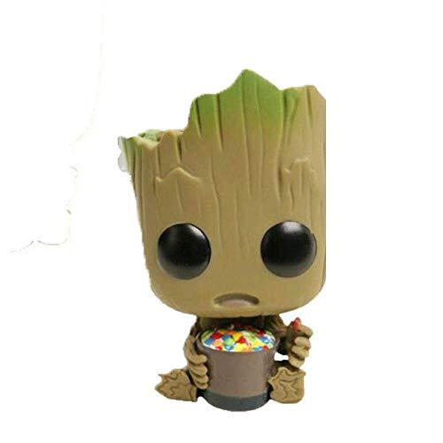 7Z7-Toys Galaxy Guard 2 Tree Man Groot Action Figure Spielzeug Puppe Zucker Essen Sitting Tree Man (Farbe : -)