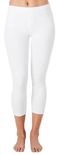 SPANX Women's Cut & Sew Cropped Knit Leggings - Knit Cropped Legging