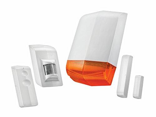 Trust Smart Home 71116 ALSET-2000-Sistema de Seguridad inalámbrico, 3 V, Blanco