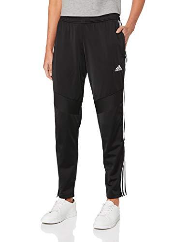 adidas Damen TIRO19 PES PNTW Sport Trousers, Black/White, M (Adidas Hose Damen)