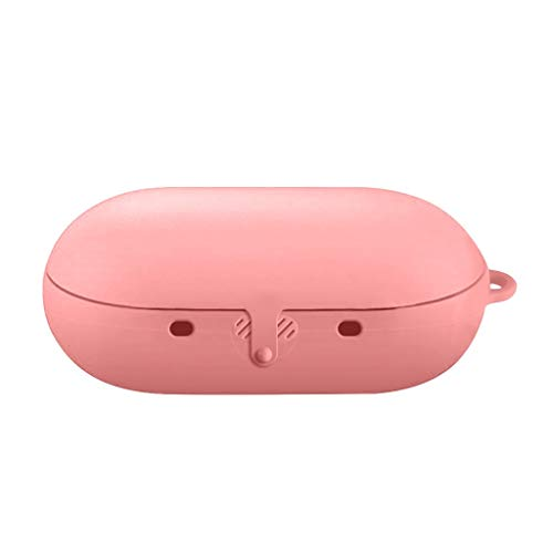 Nachthelle Silikon Schutzhülle Haut Fall SO-buts für Samsung Gear Icon X, drahtlose Bluetooth Headset Silikonhülle (Pink) - Läufer Headset