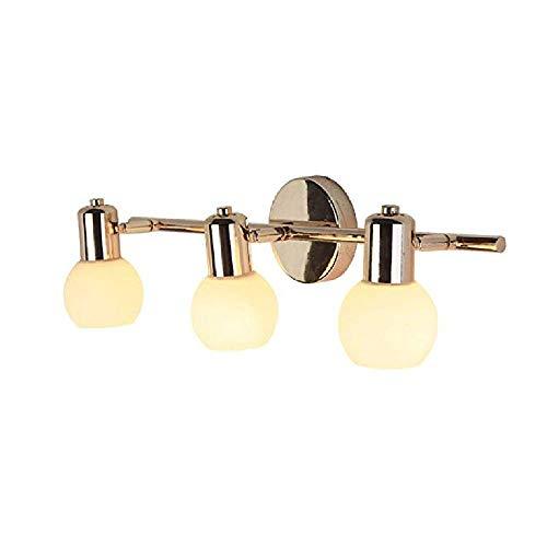 Spiegelfrontlicht Led-Spiegel Scheinwerfer Golden Jane Hotel Spiegelschrank Lampe Nachtwandlampen -