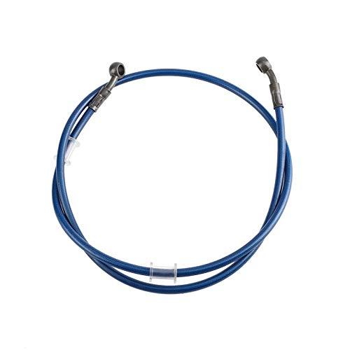 Moto Acier Tress/é Frein Dembrayage Tuyau Dhuile Tube Pipe de Canalisation 50-120cm Color/é 120cm Noir