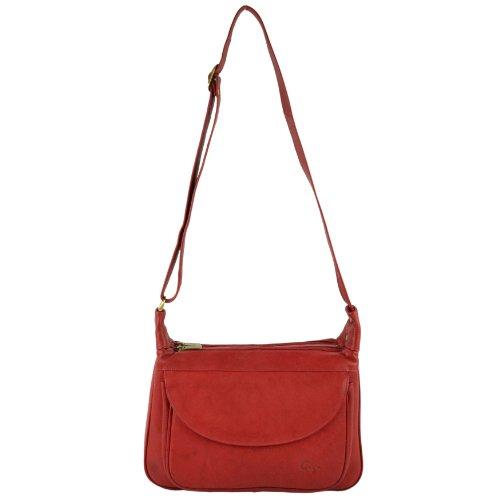 Gigi, Borsa a spalla donna Rosso (rosso)