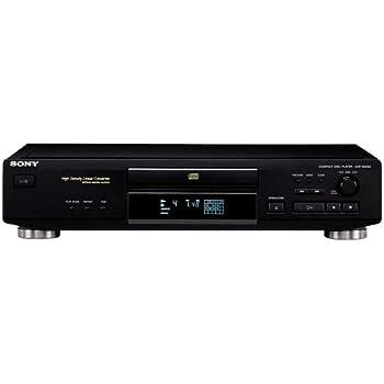 Sony CDP-XE220/B Lecteur CD Noir