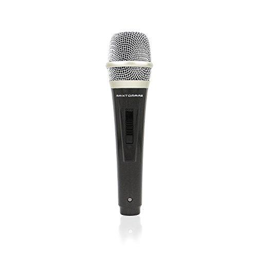 MAXTOMARS Dynamisches Mikrofon mit Schalter (10feet)