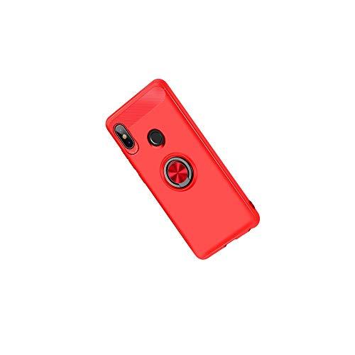 Casefirst Xiaomi Mi 8 SE, Xiaomi Mi 8 SE Case, Max Durable Hybrid Slim 360° Protection Shock Absorbing Full Body Shockproof Shell Case for Xiaomi Mi 8 SE (Red Mi 1s Handy)