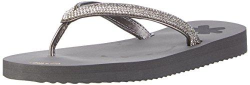 flip*flop Flipglam, Tongs Femme Grau (Steel)