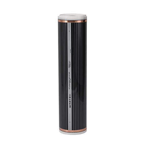 Mi-Heat 220Watt/m² 1m² Infrarot Heizfolie konfektioniert Infrarotheizung