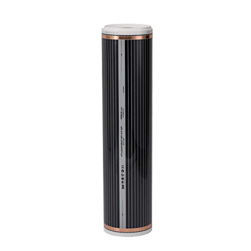 Fussbodenheizung elektrisch 2m² für Laminat Parkett Echtholz Vinyl auf HDF - Echtholz-laminat