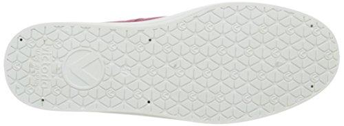 VictoriaBasket Lona Plataf. - Scarpe con zeppa in tela Unisex – Adulto Rosa (96 Fresa)