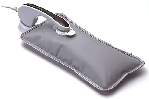 A3 Soozly Elektrische Wärmflasche für Babys, elektrisches Wärmekissen, Abschaltautomatik, 6 Minuten laden, 6 Stunden kuschelige Wärme