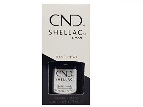 CND Shellac Base Coat, 1er Pack (1 x 7 ml)
