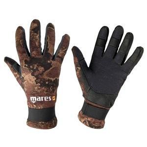 Mares Erwachsene Taucherhandschuhe Gloves AMARA CAMO 20, Schwarz/brown, S, 422754