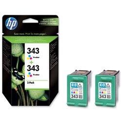 brand-new-hewlett-packard-hp-no-343-inkjet-cartridge-2x7ml-colour-ref-cb332ee-twin-pack