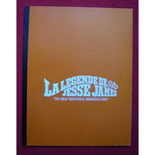 Dossier de presse de La légende de Jesse James (1972) - 21x27cm, 25 p – Film de Philip Kaufman avec Robert Duvall, Cliff Robertson+ synopsis du film – État neuf.