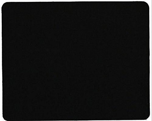 VistaraTrade Rubber Mouse Pad With 3mm Thickness 1030 Skid Resistant Surface - Black