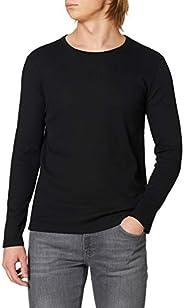DeFacto Uzun Kollu Slim Fit Bisiklet Yaka Basic Tişört Tişört Erkek