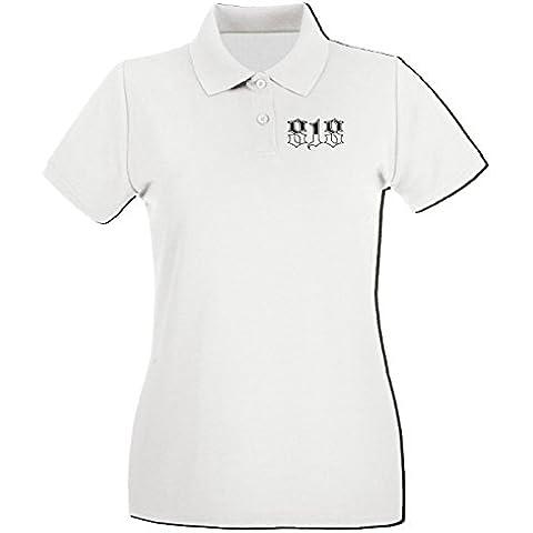 Cotton Island - Polo Donna FUN0391 818 area code shirt