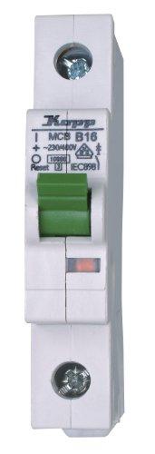 Ge Electric Circuit Breaker (Kopp Leitungsschutzschalter (MCB), 1-polig 16A 10kA B)